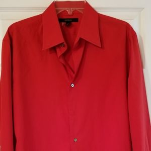 Red Express Long Sleeve Shirt